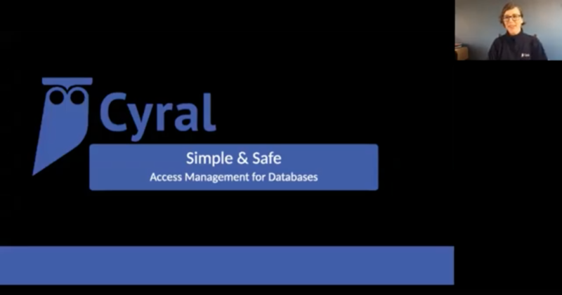 Simple and safe access management for databases